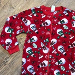 Children's Place Christmas Pajamas - Size M